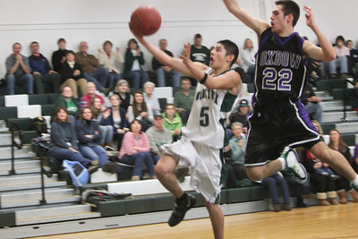 Tough Loss WUHS lost to Oxbow 58-53 after leading three quarters. The boys got their first win 47 - 40 vs Bellows Falls, in the game following. Beth Robinson Photos