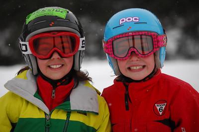 Gina Sorrentino (left) Chloe Noble (right)