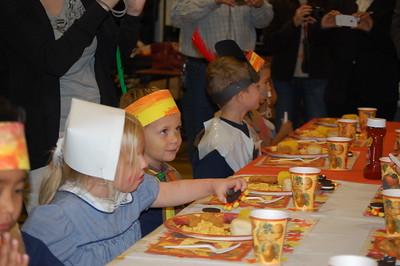 2011-11-18 PreK4 Thanksgiving Feast