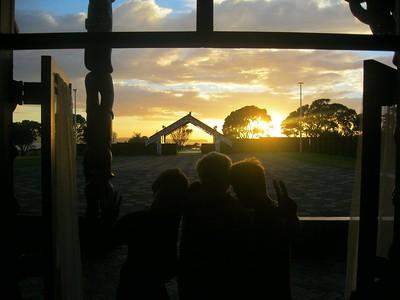 2011 Noho Marae - Trip to Orakei Marae at Bastion Point
