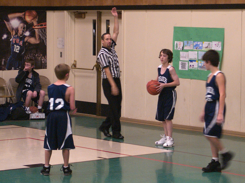 Basketball Game at Butte Falls