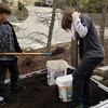 Shoveling Topsoil for Garnddad