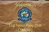01 Log Fence Pony Club Banner