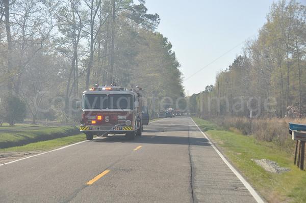 03242011 Brush Fire, Round O Rd, Colleton, SC