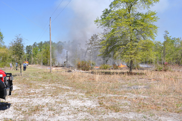 04072011 Brush Fire, Pioneer Tr, Colleton, SC