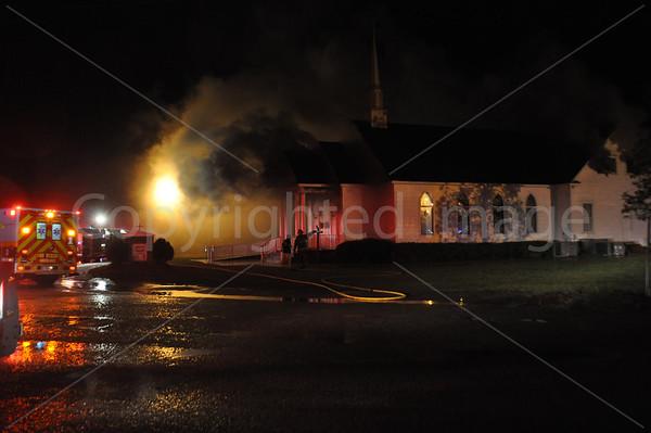 05132011 Great Swamp Church fire, Hendersonville Hwy, Colleton, SC