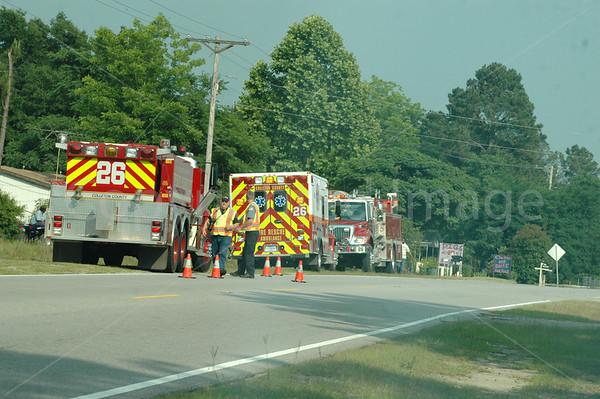 05232011 Brush Fire, Augusta Hwy, Walterboro, SC