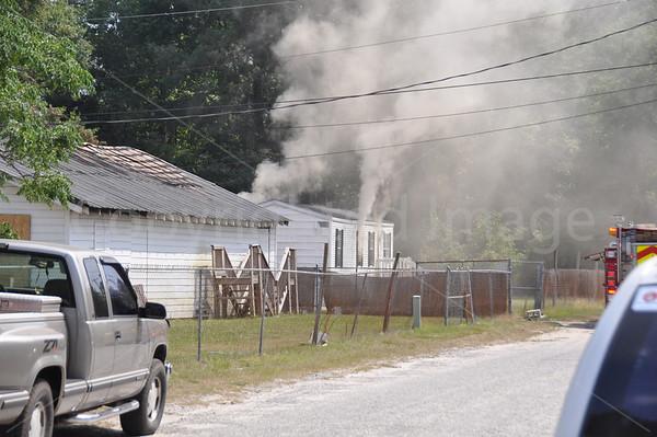 05252011 Structure Fire, 205 Godwin St, Walterboro, SC