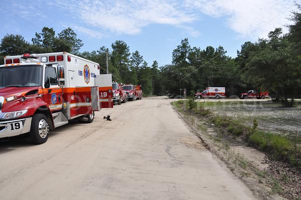 06252011 Structure Fire, Buffalo Ln, Colleton, SC