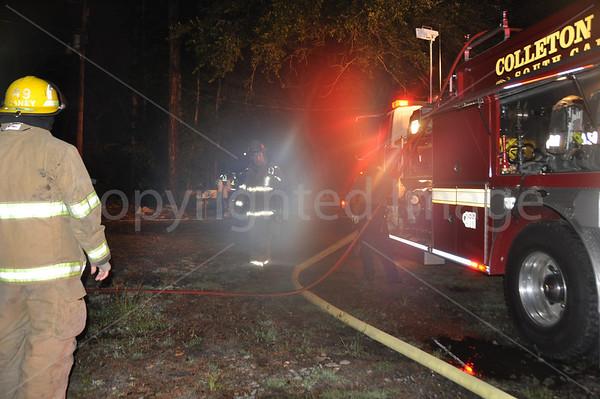 06262011 Structure Fire, Lawson Ln, Colleton, SC