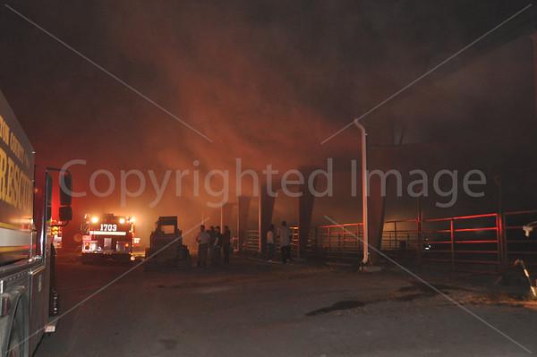 11122011 Hay Fire, Drain Rd, Colleton, SC