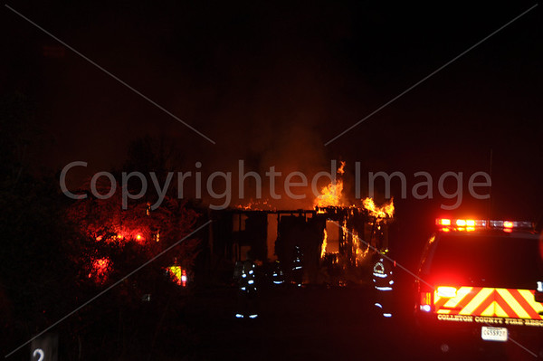 12222011 Structure Fire, Seigler Dr, Walterboro, SC