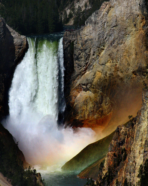 "Yellowstone National Park: Jessie, 16 - ""The Waterfall"""