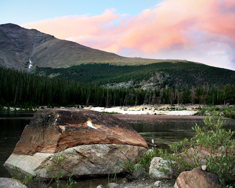 "Rocky Mountain National Park: Brack, 17 - ""Rocky Mountain Sunset"""