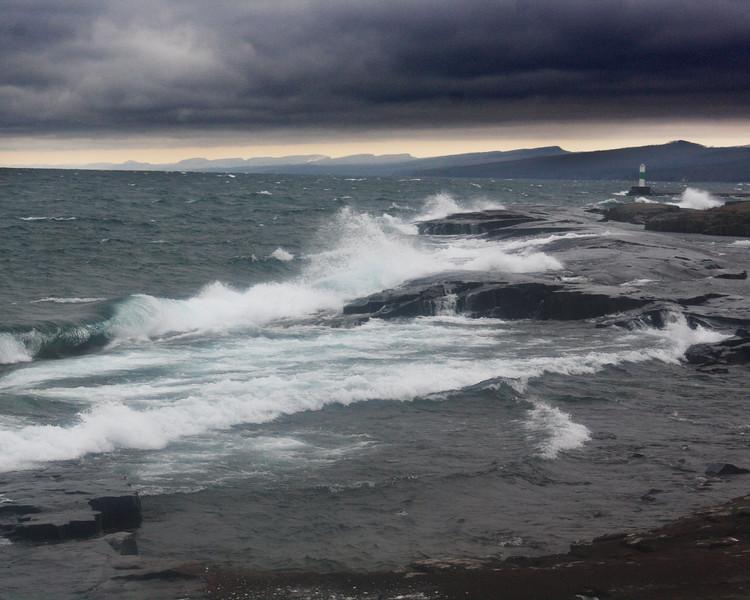 "North Shore of Lake Superior: Brandon, 16 - ""Crashing"""