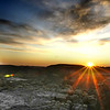 """Badlands National Park: Clayton, 17 - """"Sunrise over Rocks"""""""