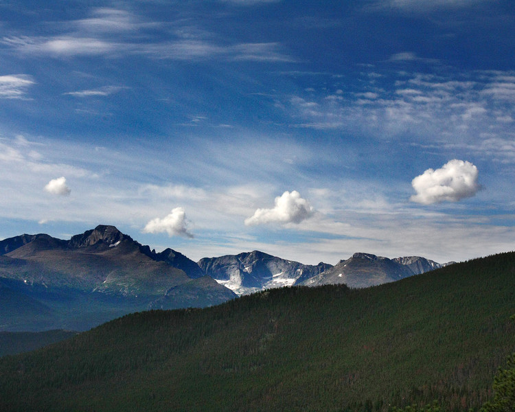 "Rocky Mountain National Park: Shane, 16 - ""The Four Brothers"""