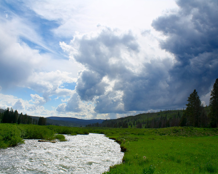 """Yellowstone National Park: Chris, 17 - """"Swiftly Flowing"""""""