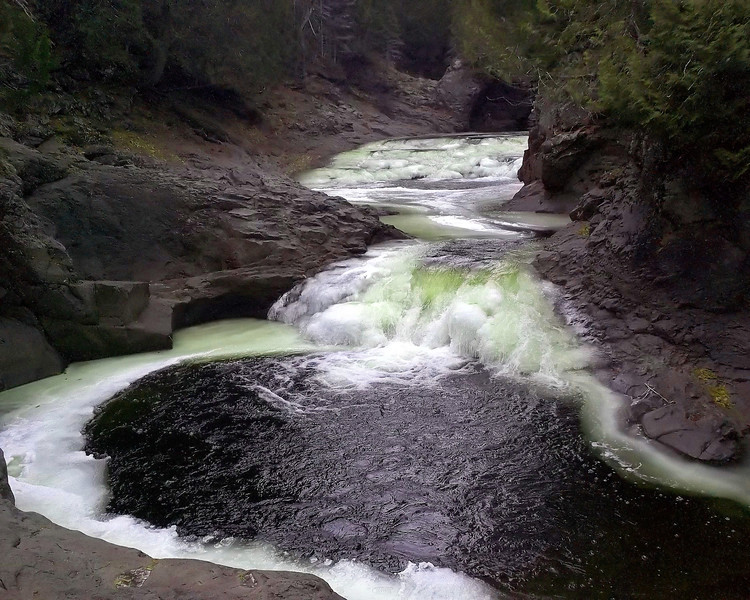 "North Shore of Lake Superior: Brandon, 16 - ""Wilderness Pool"""