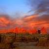 "Badlands National Park: Diamonte, 17 - ""Badlands Sunrise"""