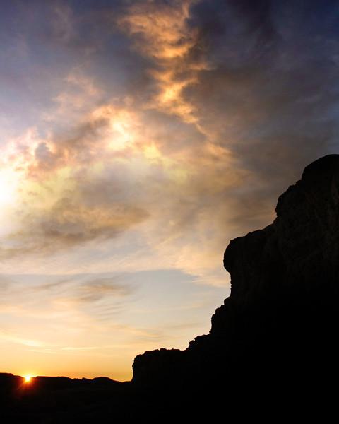 """Badlands National Park: Clayton, 17 - """"Lincoln's Resting Bed"""""""
