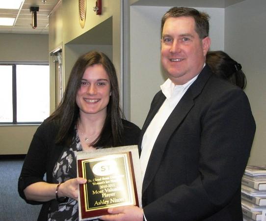 2010-11 SCSU Most Valuable Player: Ashley Nixon