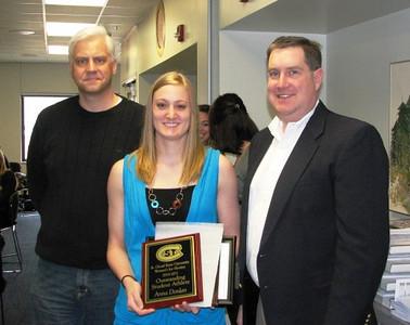 2010-11 SCSU Outstanding Student-Athlete: Anna Donlan