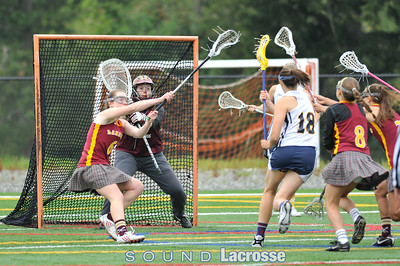 5/21 Girls D1 Championship - Bainbridge vs Lakeside by Michael Jardine and Sue Larkin