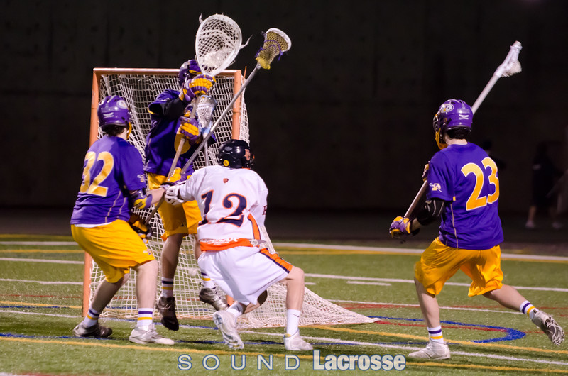 Colin MacIlvennie  scores to make it 7-6 EC over Issaquah, in the 3rd quarter...