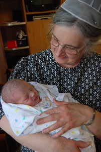 Myles and Grandma