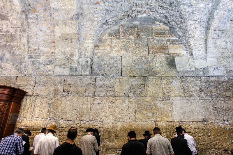 Located to the left of the Western (Wailing) Wall