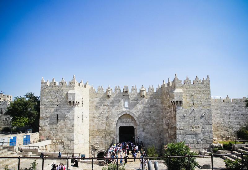 Entrance to the Old City (Jerusalem)