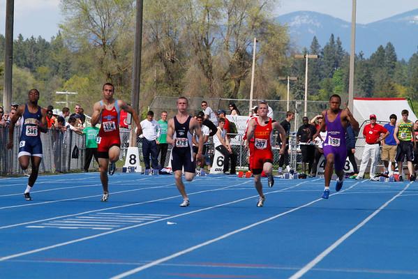 2011 Regionals - 100m Dash