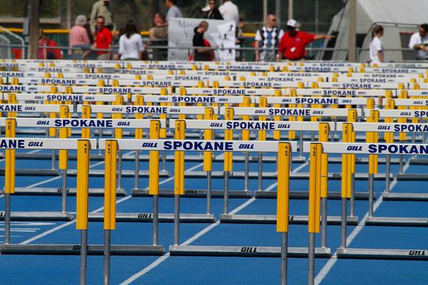 2011 Regionals - 100m/110m Hurdles
