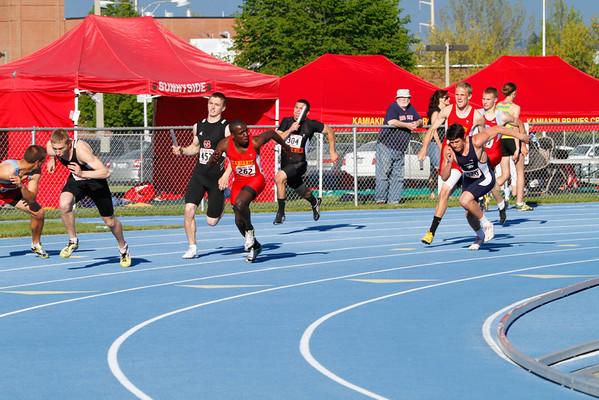 2011 Regionals - 4x100m, 4x200m & 4x400m Relays