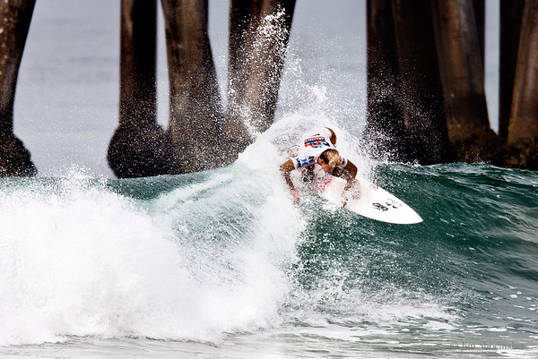 Kolohe Andino, 2011 US Open of Surfing, Huntington Beach, California