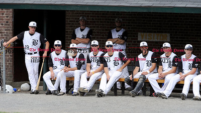 7/28/2010 Mike Orazzi | Staff Members of the Bristol NECBL team against the North Adams SteepleCats during a 3-1 win at Muzzy Field on Wednesday afternoon.