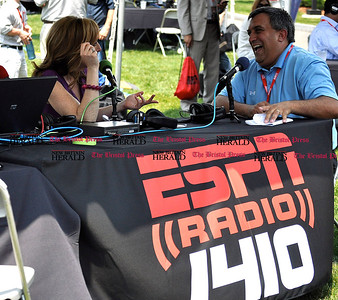 6/1/11 Kayla Adams | Staff Paul Nanos speaks with Linda Cohn, ESPN Commentator on the Hartford Radio Station 1410 at ESPN.