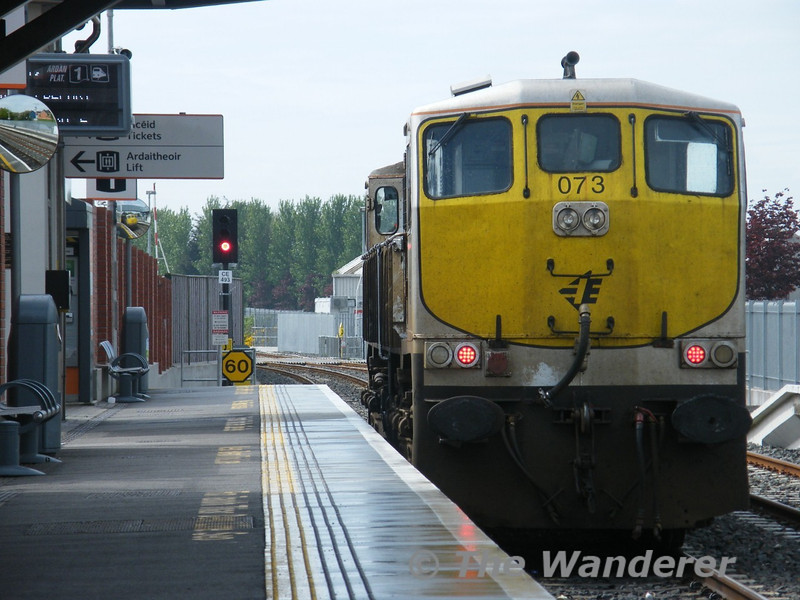073 waits to depart Midleton for Cork. Tues 26.04.11. Picture courtesy of JT42 HCW