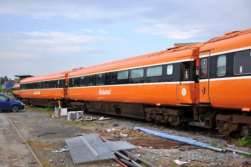 7413 at Heuston before transfer to North Wall.  Fri 22.04.11