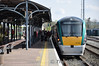 Changing trains at Mallow. Passengers board 22006 for their onward journey to Kerry. Sun 17.04.11