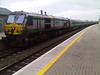 231 at Portarlington on the rear of the 1630 Cork - Heuston.  Fri 01.04.11