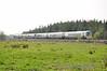 22046 + 22030 pass Eyne with the slightly late 1343 Laois Traincare - Heuston. Tues 19.04.11