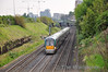 22029 + 22046 are seen in the Gullet with the 1025 Heuston - Portlaoise Driver Training Train.  Fri 22.04.11