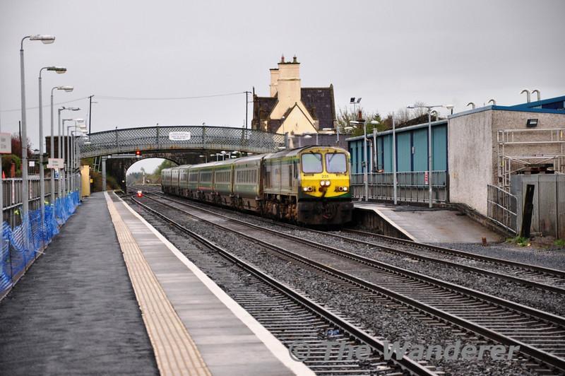 231 passes through Kildare with the 1800 Heuston - Cork.  Sat 02.04.11