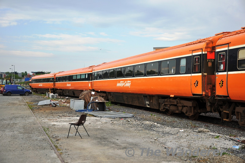 7123 at Heuston before transfer to North Wall. Fri 22.04.11