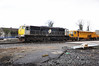 075 in Kildare Per-Way yard with Tamper 742.  Sat 02.04.11