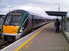 22042 arrives at Portarlington with the 1725 Heuston - Limerick.  Fri 01.04.11