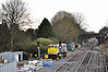 075 enters the per-way yard at Kildare to collect 076.  Sat 02.04.11