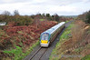22021 at Maddam's Hill Bridge with the 1115 Tralee - Cork. Sun 12.11.12